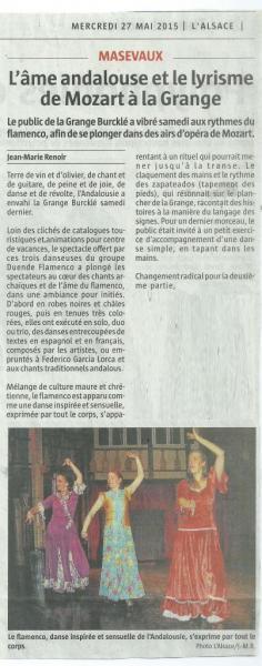 article L'Alsace 270515