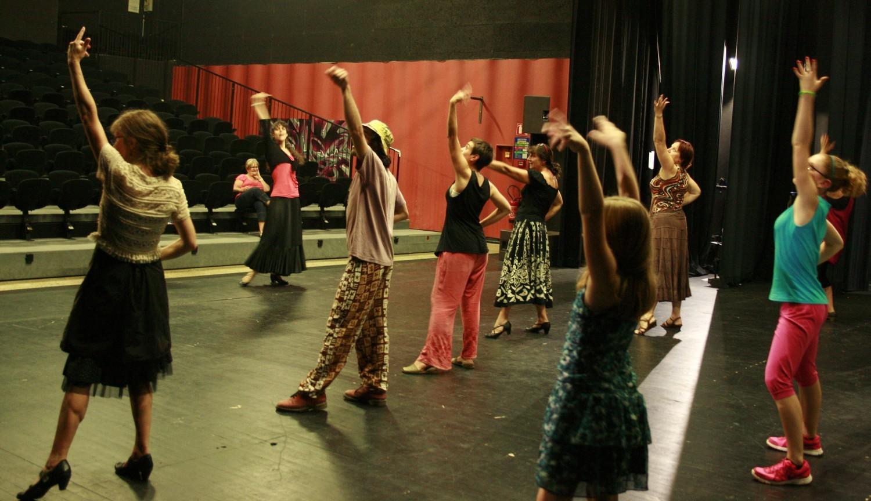 Atelier decouverte du flamenco ouvert a tous a st yrieix