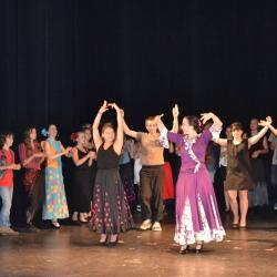Ateliers flamenco au college de fraisans duende flamenco 2