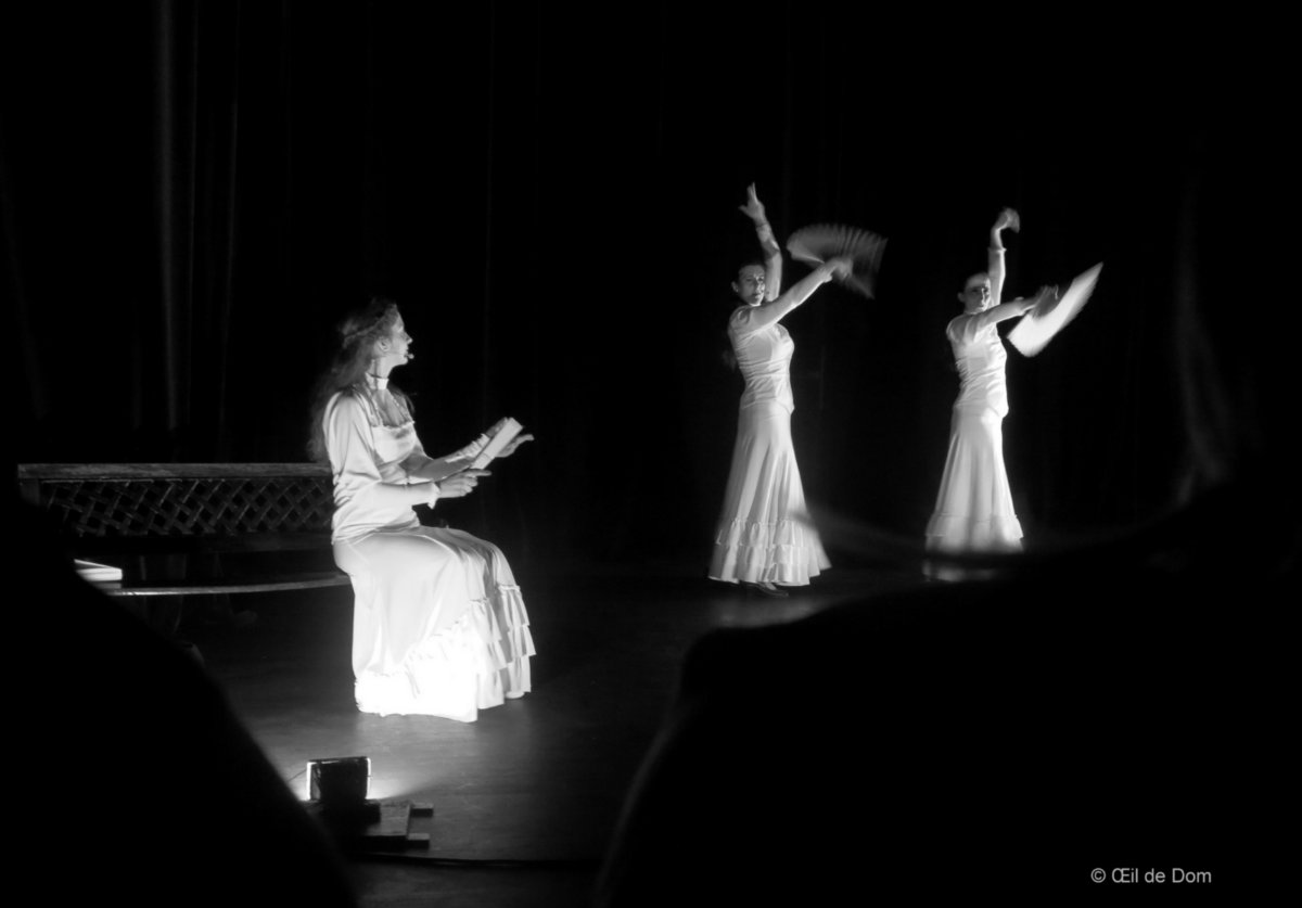 Guajira- Poussière Etoiles - Duende Flamenco-  Th B 050316