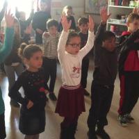 Classe cp et clex ecole fanart parcours culturel 2018 duende flamenco 10