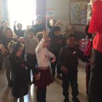 Classe cp et clex ecole fanart parcours culturel 2018 duende flamenco 11