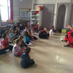 Classe cp et clex ecole fanart parcours culturel 2018 duende flamenco 4