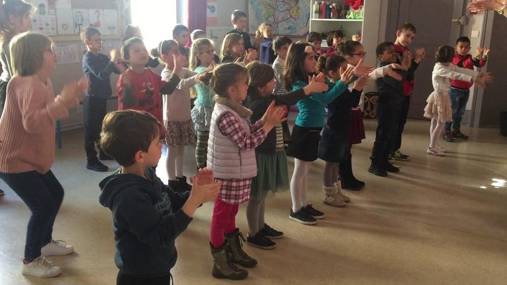 Classe cp et clex ecole fanart parcours culturel 2018 duende flamenco 9
