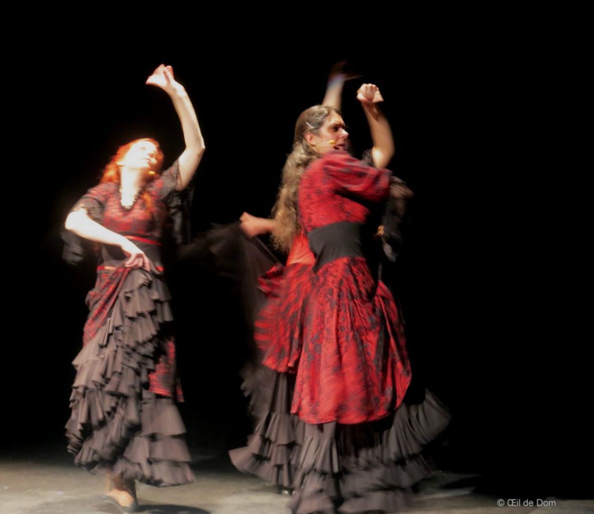 Libres como el aire- Poussière Etoiles - Duende Flamenco-  Th B 050316