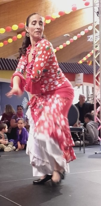 Duende flamenco flamencura a la foire comtoise mai 2019 alegria 1 l marion diaz