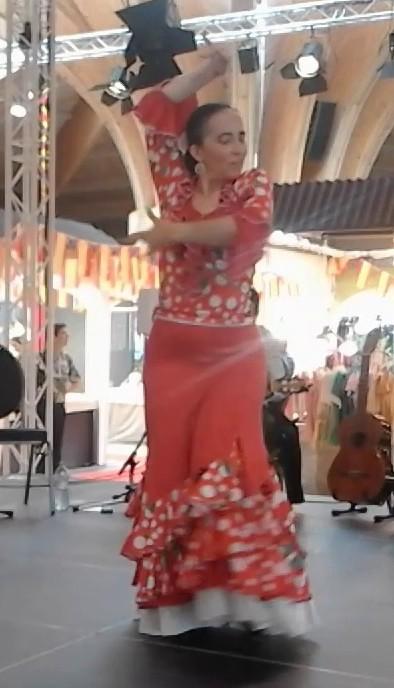 Duende flamenco flamencura a la foire comtoise mai 2019 alegria 4 l marion diaz