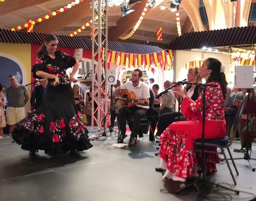 Duende flamenco flamencura a la foire comtoise mai 2019 buleria a mathieu fuster 2
