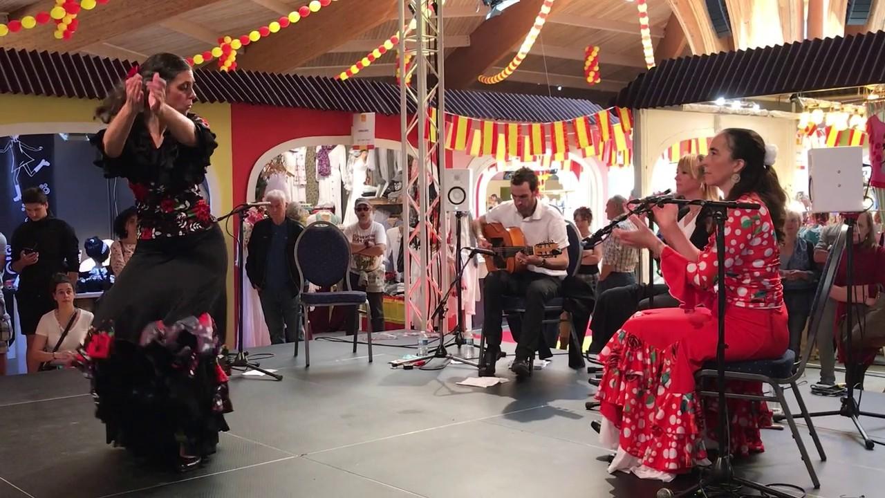 Duende flamenco flamencura a la foire comtoise mai 2019 buleria a mathieu fuster 3