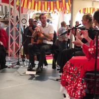 Duende flamenco flamencura a la foire comtoise mai 2019 guitare et palmas 3