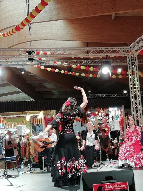 Duende flamenco flamencura a la foire comtoise mai 2019 solea a mathieu fuster 1