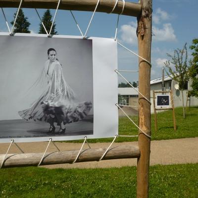 Exposition Photos danseuses St-Yrieix été 2014
