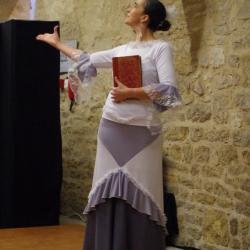 Jeune fille mer et plume de v hugo duende flamenco3 1