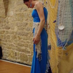 Jeune fille mer et plume de v hugo duende flamenco4 1