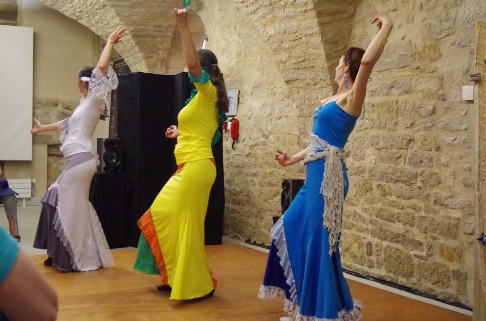Jeune fille mer et plume de v hugo duende flamenco5