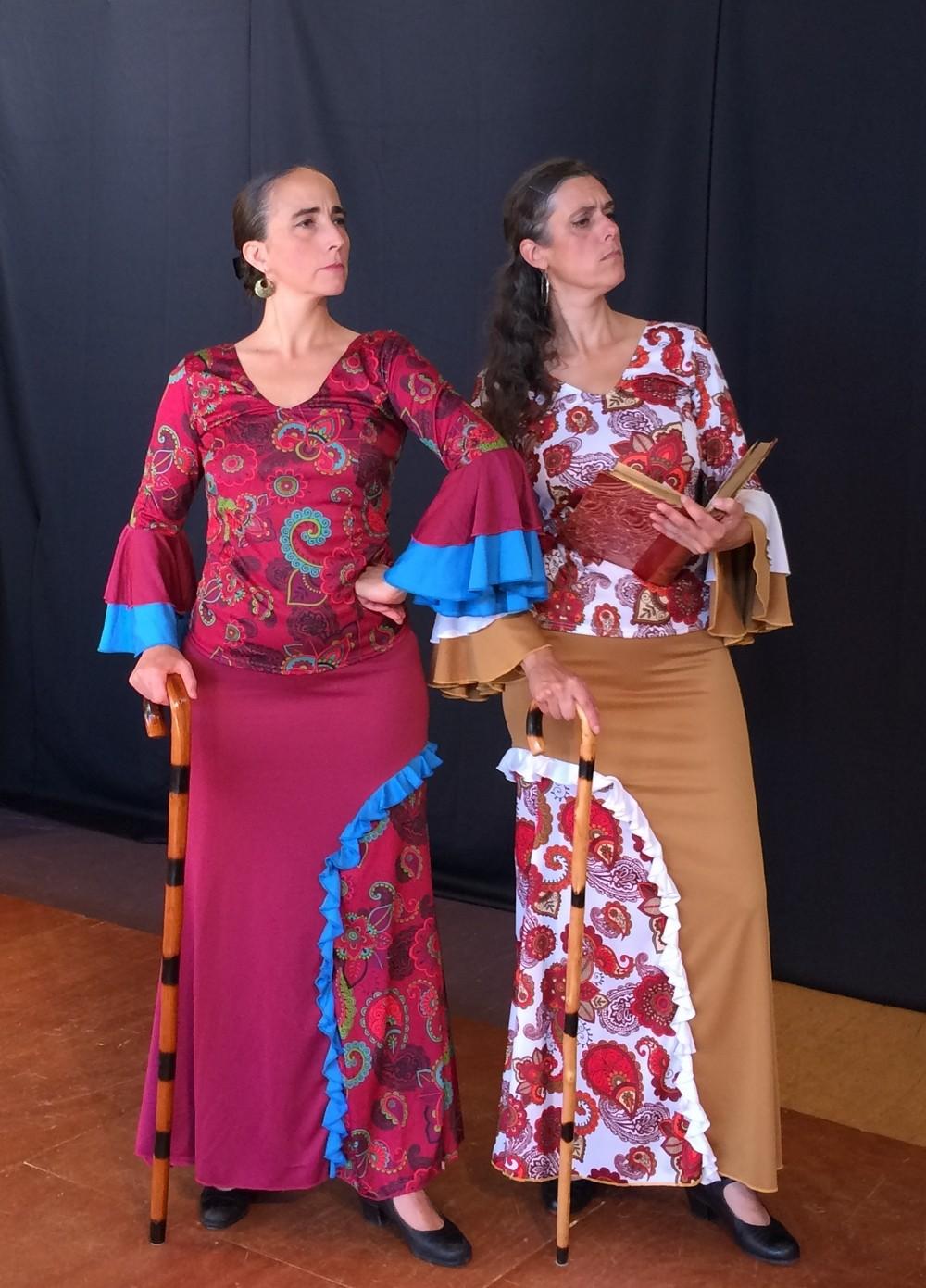 L etincelle albane et laurence duende flamenco comp