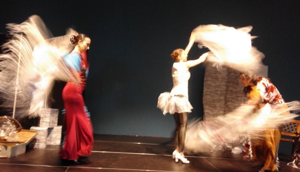 L etincelle duende flamenco caracoles2