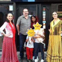 La plancha avec Cedric et sa famille - Duende Flamenco Ce qui nous lie