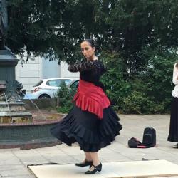 Voyage flamenco off tourisme besancon L. Marion Diaz square st amour duende flamenco