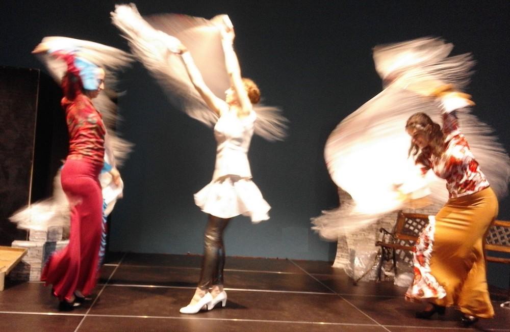 Letincelle duende flamenco caracoles1