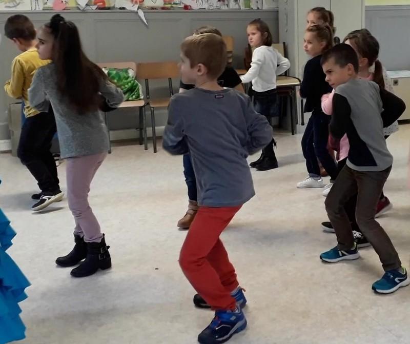 Residence drac st hippolyte 18 19 duende flamenco danser ses emotions ce2 cm1 2
