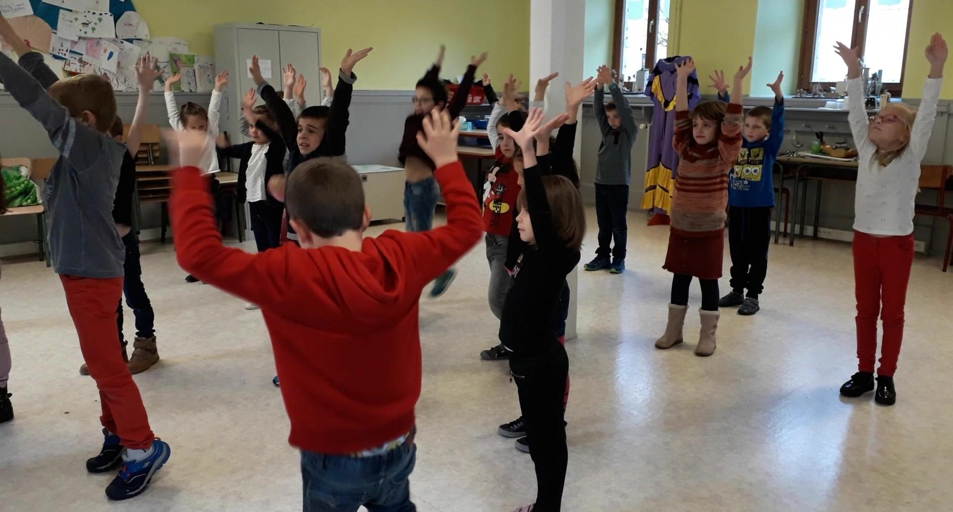 Residence drac st hippolyte 18 19 duende flamenco danser ses emotions ce2 cm1 8