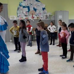 Residence drac st hippolyte 18 19 duende flamenco danser ses emotions cp ce1 2