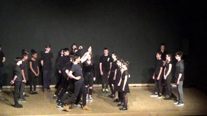 Residence un art pour combattre duende flamenco college st laurent 2
