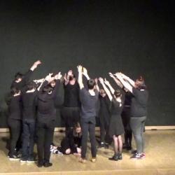 Residence un art pour combattre duende flamenco college st laurent 3