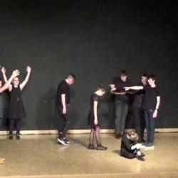 Residence un art pour combattre duende flamenco college st laurent 6