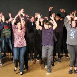 Residence un art pour combattre duende flamenco college st laurent