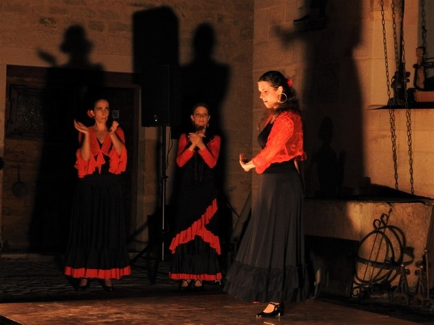 Voyage flamenco a montbozon duende flamenco a mathieu fuster tiento 2 photo m a boterff