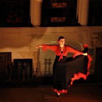 Voyage flamenco a montbozon duende flamenco l marion diaz solea 2 photo m a boterff