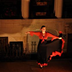 Voyage flamenco a montbozon duende flamenco l marion diaz solea 2 photo m a boterff