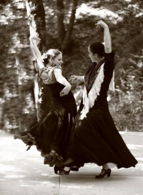 A la decouverte du f dans la foret duende flamenco