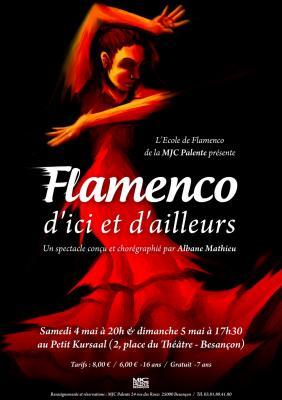 Affiche flamenco d ici et d ailleurs