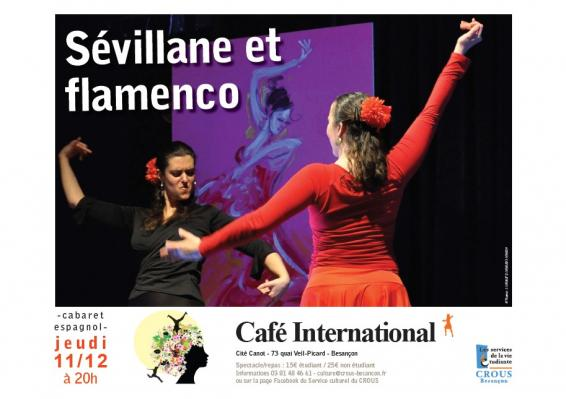 Affiche sevillanes et flamenco 111214