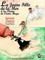 Affiche web la jeune fille de la mer et la plume de v hugo