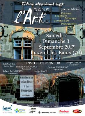 Art rue luxeuil 2017
