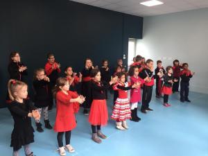 Classe cp et clex ecole fanart parcours culturel 2018 duende flamenco 19