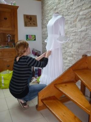 Costume blanc 1er tableau