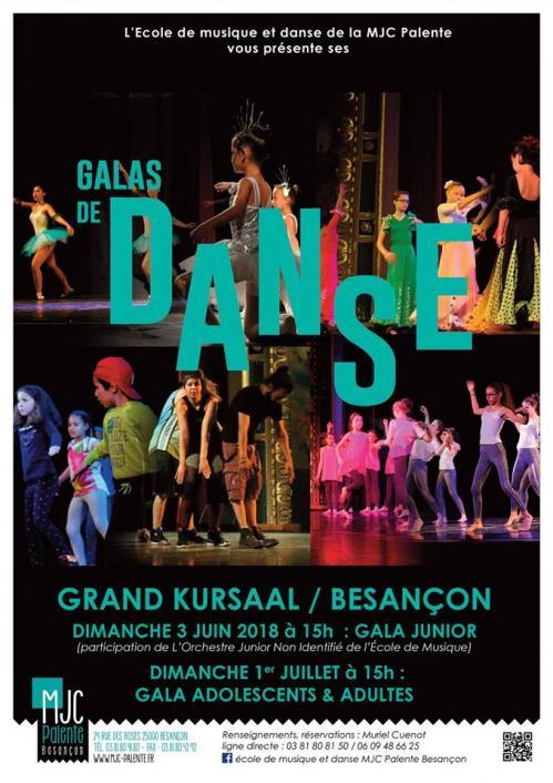 Galas danse mjc 2018