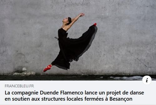 Interview france bleu Duende Flamenco Ce qui nous lie