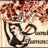 Logo fleurs duende flamenco