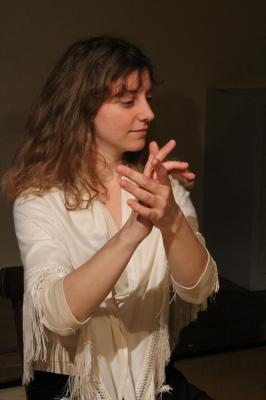 Magalie journot duende flamenco
