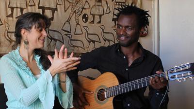A. Mathieu-Fuster et M. Sall Sin Frontera