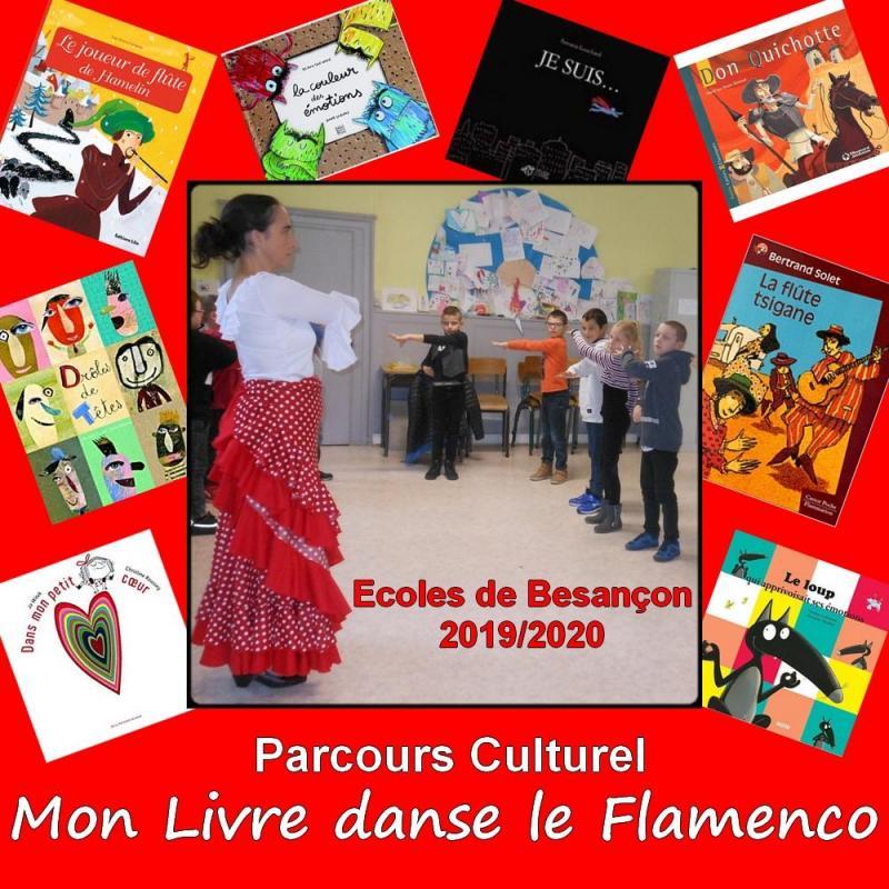 Parcours culturel mon livre danse le flamenco compagnie duende flamenco
