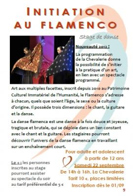 Prog chevalerie st amour stage
