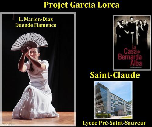 Projet flamenco et garcia lorca a saint claude