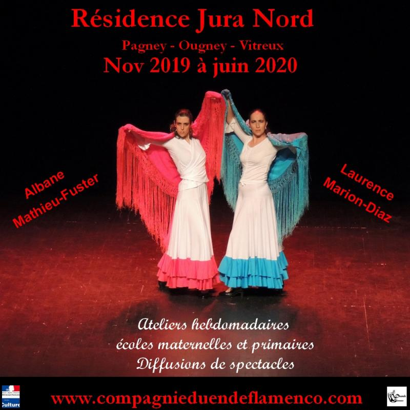 Residence drac jura nord 2019 2020 duende flamenco web